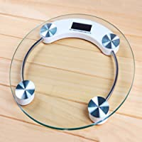 ZOLICO Hot Sale 180 kg Glass Digital LCD Electronic Glass Bathroom Weighing Scales White,Blue & Pink