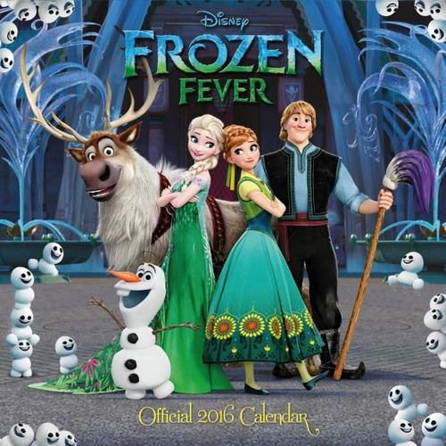 Official Disney Frozen Fever 2016 Square Wall Calendar (Elsa, Anna and Olaf) Calendario – 1 ott 2015 Danilo Danilo Promotions Limited 1780549075 NON-CLASSIFIABLE