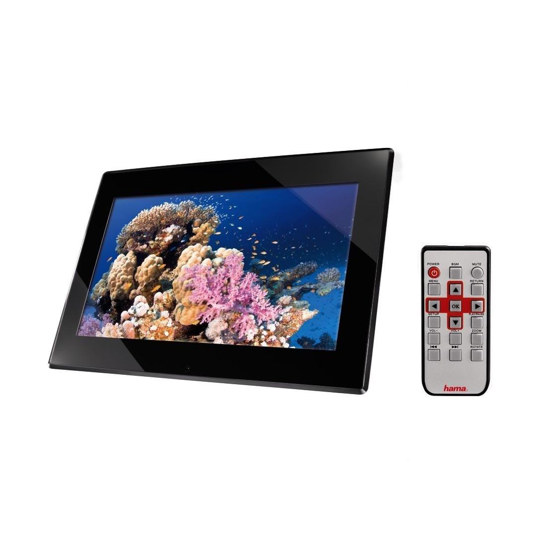 Hama Premium Digitaler Bilderrahmen 15,6 Zoll schwarz: Amazon.de: Kamera