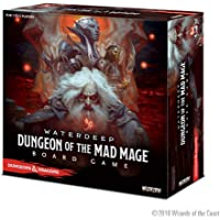 WizKids Dungeons & Dragons Waterdeep: Dungeon of The Mad Mage Adventure System Board Game (Standard Edition)