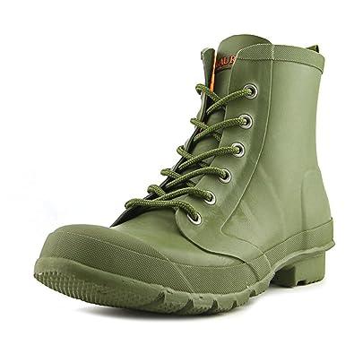 Lauren Ralph Lauren Mikenna-BO-Rai Women US 7 Green Rain Boot