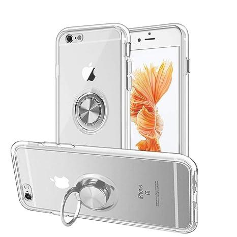 Amazon.com: Lamzu - Carcasa para iPhone 6 y iPhone 6S, suave ...
