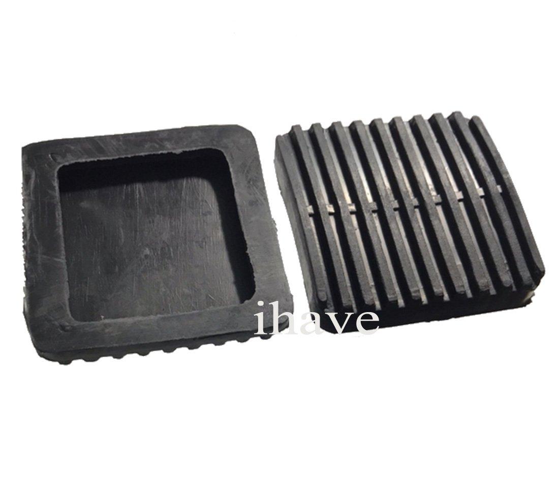 Amazon.com: ihave 2X Brake Clutch Pedal Pad Covers for Toyota Land Cruiser FJ40 FJ60 BJ42 BJ60 HJ60: Automotive