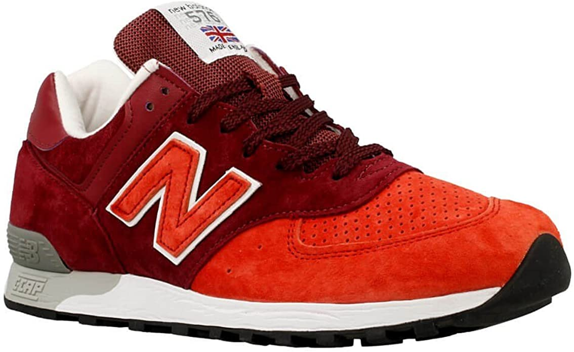 New Balance 576 Sneakers Herren Dunkelrot/Rot