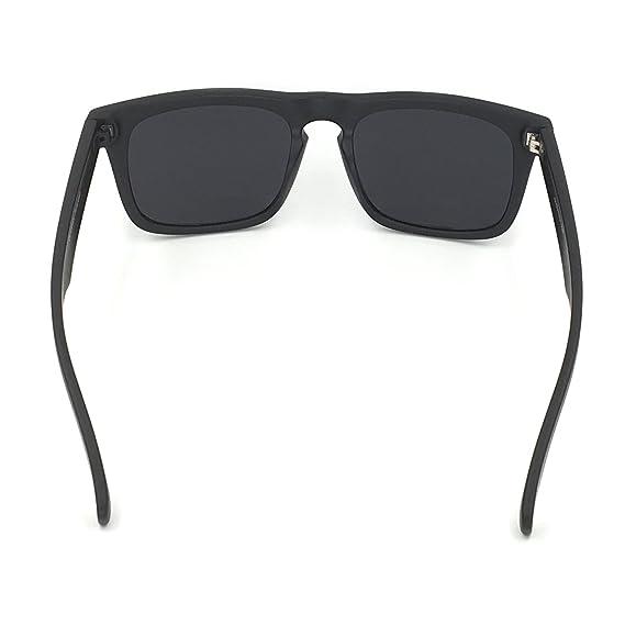 80f949355a J+S Raglan Surfer s Polarized Mirror Lens Wayfarer Sunglasses for Men  SGS0101-BFBL