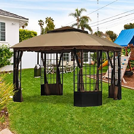 Amazon Com Garden Winds Replacement Canopy For Sutton Pagoda