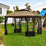 Sutton Pagoda Gazebo Replacement Canopy - RipLock 350