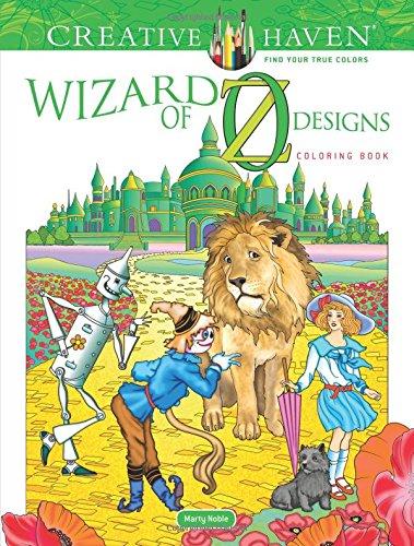 Creative Haven Wizard of Oz Designs Coloring Book (Adult Coloring)