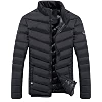 Men's Lightweight Short Parka Winter Outwear Puffer Down Jacket coat