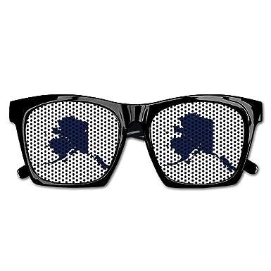 Amazon.com: Gafas de sol unisex con diseño de mapa de la ...