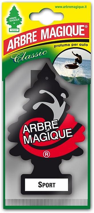 Arbre Magique 1710520 Lufterfrischer Wunderbaum Sport Schwarz Weiß Rot Set Of 24 Auto