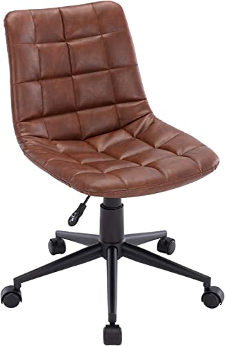 PU Leather Office Chair Swivel Computer Desk Chair