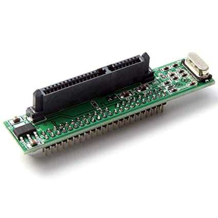 """SATA Female to 44 Pin 2.5/"""" IDE hard Drive Male HDD Adapter Converter"""