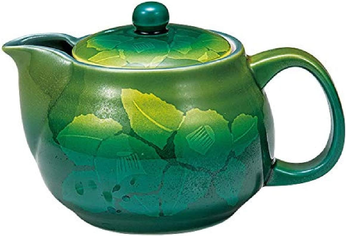 Amazon Com Kutani Japanese Ceramic Teapot Kyusu 360ml With Strainer Green Tea Leaves K5 560 Japan Import Home Kitchen