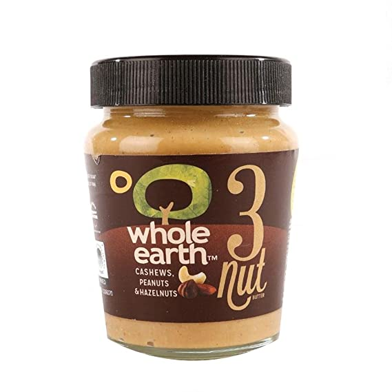 Whole Earth Three Nut Butter 227g by Whole Earth