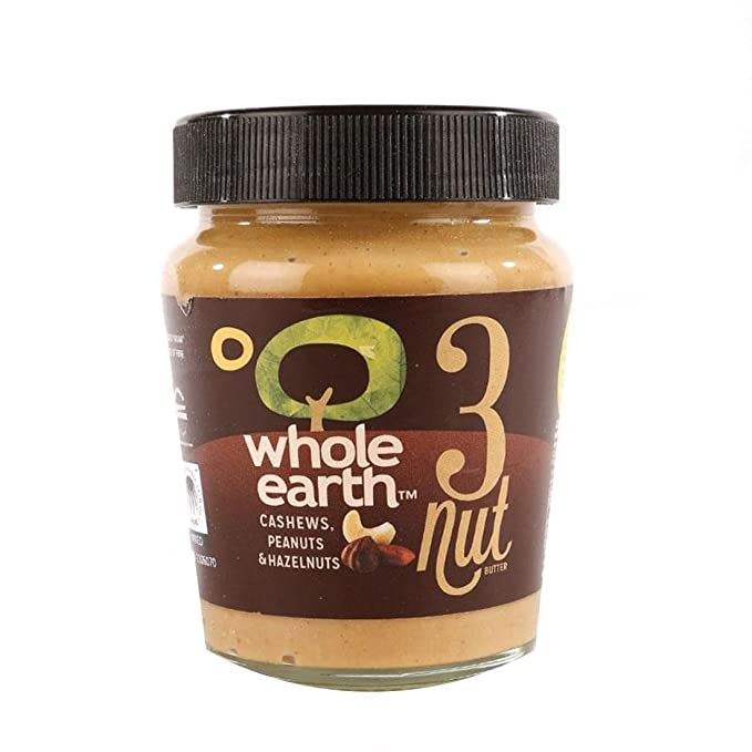 Whole Earth | Three Nut Butter | 1 x 227g