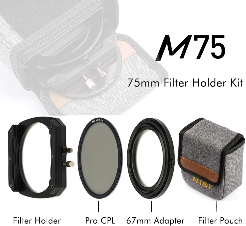 NiSi 39-67mm Adpater Ring for Filter Holder M75