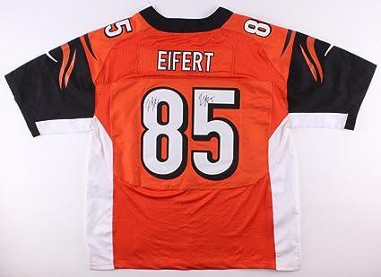 newest 0a4f7 f4c17 Tyler Eifert Twice-Autographed Signed Cincinnati Bengals ...