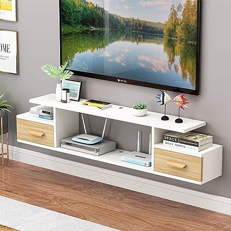 Consola de TV flotante for muebles Estante de la televisión Gabinete de TV Rack de montaje