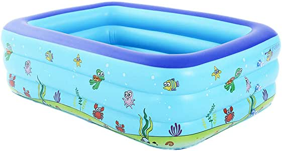 HEROTIGH Piscinas Hinchables Grueso Original Rectangular Inflable ...