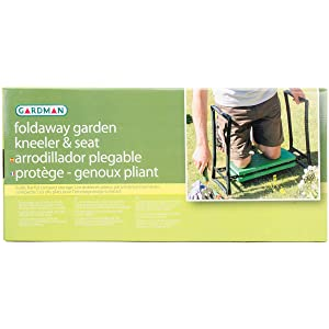 "Gardman R616 Fold Away Garden Kneeler and Seat, 22"" Long x 11"" Wide x 19"" High"