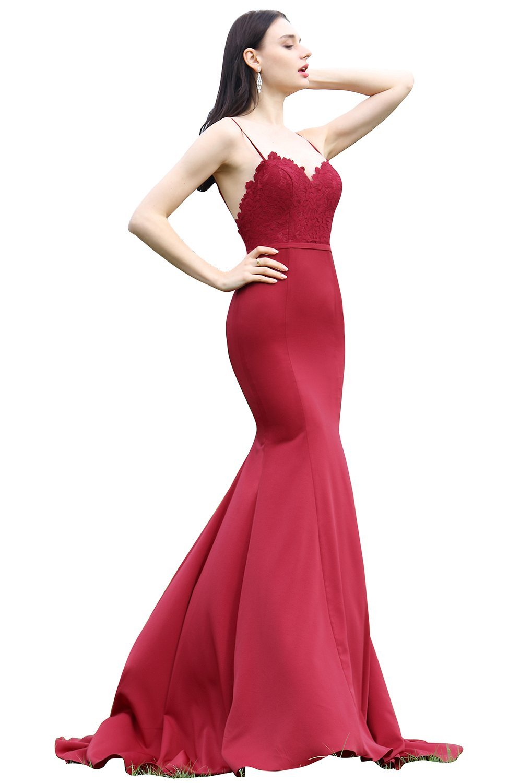 a2d2a08cae eDressit Spaghetti Straps Burgundy Lace Party Dress Design (00171817)