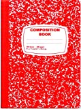 Red Marble Comp Notebook - 100 sheets Case Pack 48