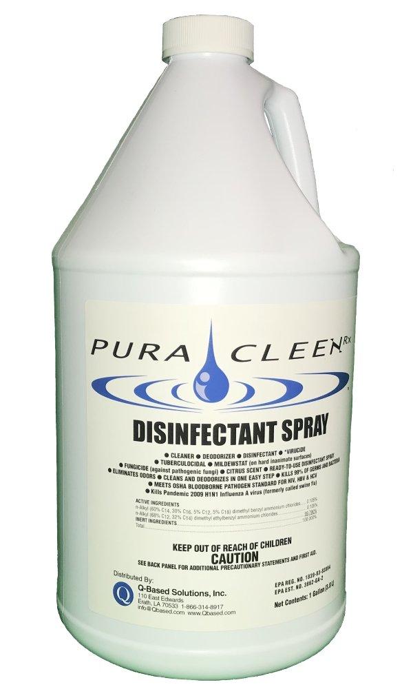 Disinfectant Spray kills Bacteria, Fungus and Virus's, Hospital Strength - 128 oz