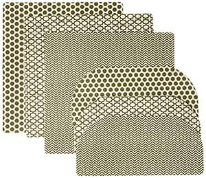 Fridge Coaster Combo Pack, Olive (Set of 6)