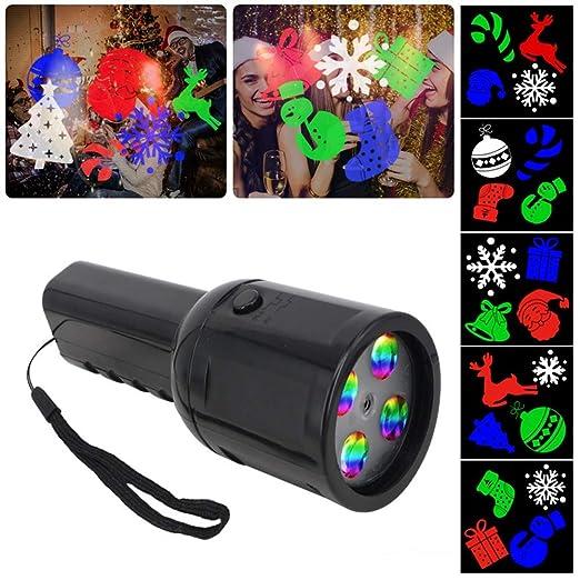 WHCCL Luces de proyector de Navidad, Diapositivas de patrón Luz de ...