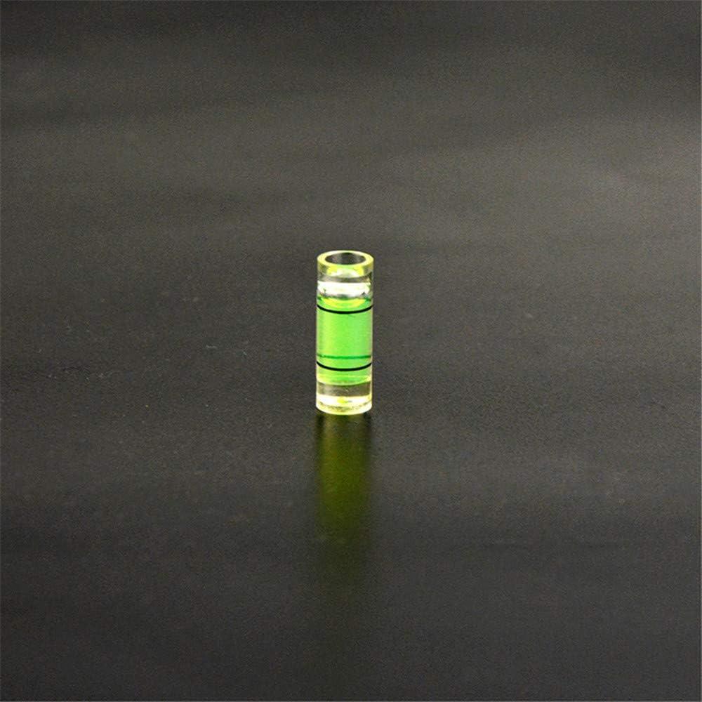 MILAEM 20pcs Transparente Niveau de Bulle desprit de Bulle de Colonne pour la Chasse ext/érieure darc /à poulies