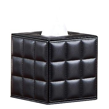 Kleenex Box, piel sintética paños Caja pañuelos de bolsillo) dispensador de trébol NEX Box