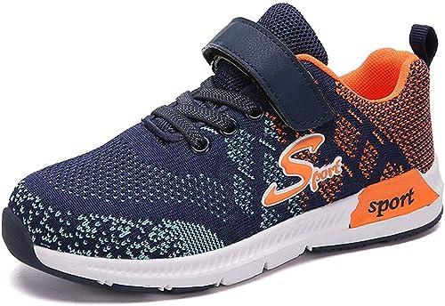 Chaussure de Course Sport Enfant Garçon Baskets Mode Fille Chaussures de Running Sneakers Walking Shoes 28 39