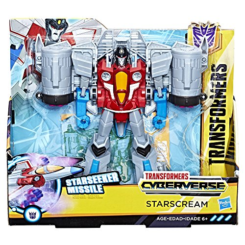 Transformers: Cyberverse Starscream action figure from Transformers