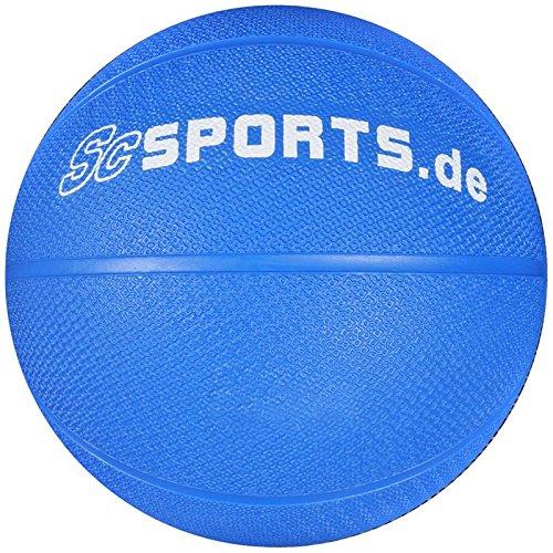 ScSPORTS Balón Medicinal Azul 1 kg: Amazon.es: Deportes y aire libre