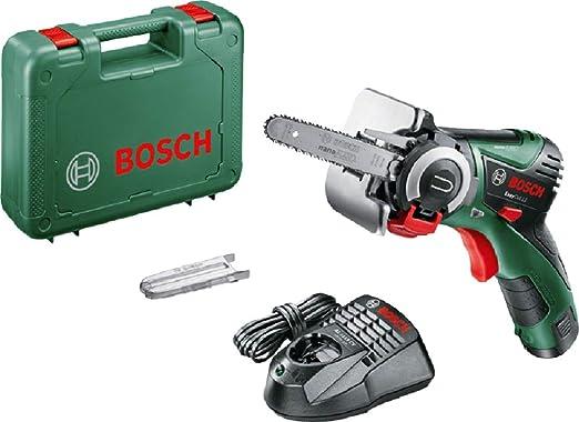 Bosch EasyCut 12 - Sierra a batería con tecnología NanoBlade (12V, hoja de sierra, 1 batería 12V 2,5Ah, cargador y maletín)