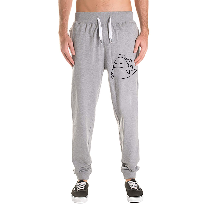 Men 3D Digital Print Gym Sport Jogging Pants Tees Casual Sweatpants Fox