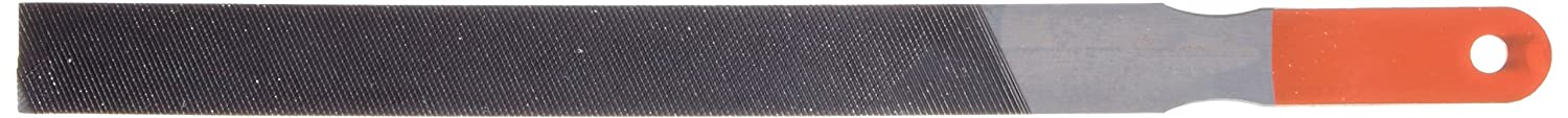 Double Cut 10 Length Simonds Hand File 3//8 Width Round Fine Thickness American Pattern