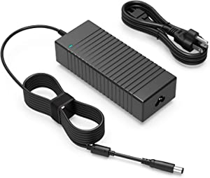 130W AC Charger Fit for Dell Inspiron 7559 5577 5576 7567 7566 7557 5160 11 15 Precision 3520 3510 3530 3540 3541 M2800 M6300 XPS 15 (L502X) 17(L702X) LA130PM121 Laptop - Power Supply Adapter Cord