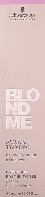 4. Schwarzkopf Professional Blond Me Blonde Toning