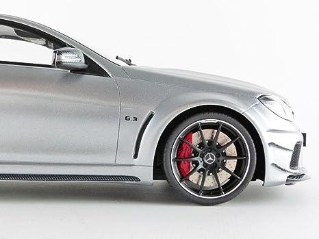 Gt Spirit Gt731 Mercedes Benz C63 Amg Black Series 2016 Echelle 1 18 Silver Spielzeug