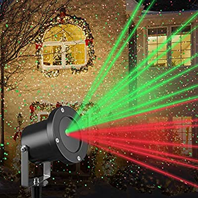 Amazon.com: Christmas Laser Light Projector by Gideon ...
