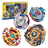 Bey Battle Burst God Evolution High Performance Battling Top Set with 4D Launcher Stater Grip and Stadium Battle Set