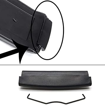 Armrest Centre Console Storage Box Cover for A4 S4 A6 C5 2000-2005 Black
