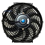 Upgr8 Universal High Performance 12V Slim Electric Cooling Radiator Fan...