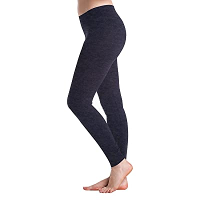 Beyond Clean Karma : Champion Om Life - Yoga Ankle Legging By In Touch (small, charcoal)