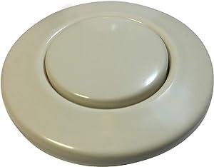 Waste King Garbage Disposal Air Switch Button, Biscuit - AS-4201-BIS