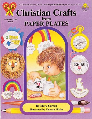 Christian Crafts from Paper Plates (Christian Craft Series) -