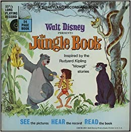 The Jungle Book Walt Disney Presents A Disneyland Record