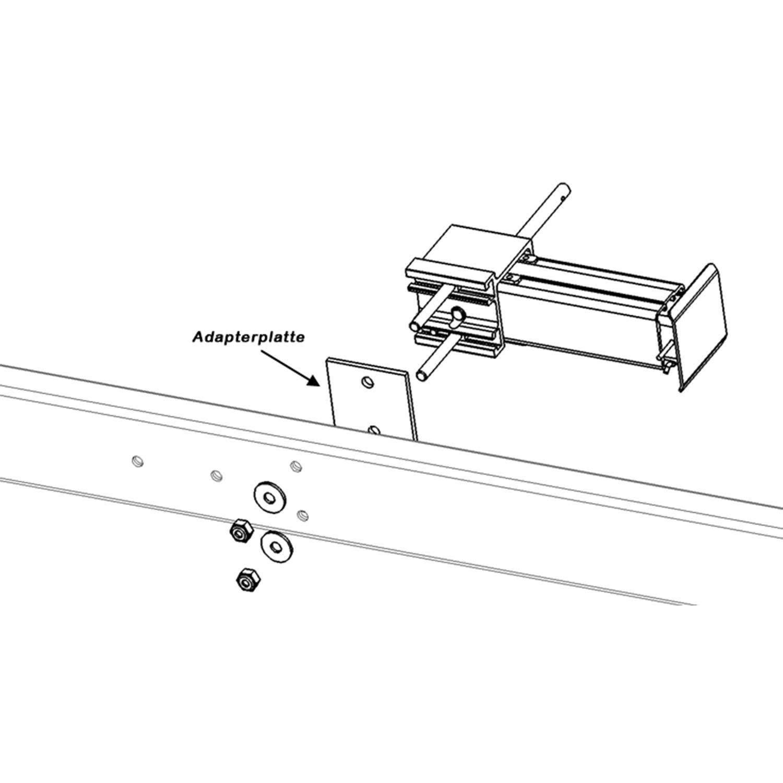 290-450 mm Kurbelstütze MoCa-Hubmatic